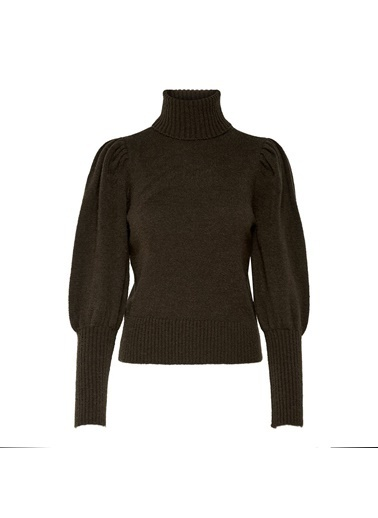 Only ONLBRANDIE L/S ROLL NECK PULLOVER KNT 15214587ChicoryXS                Haki